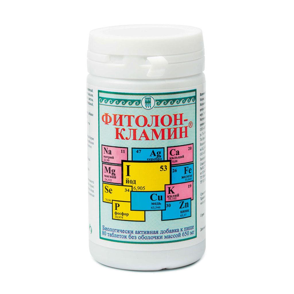 Фитолон-Кламин, таблетки, 80 шт