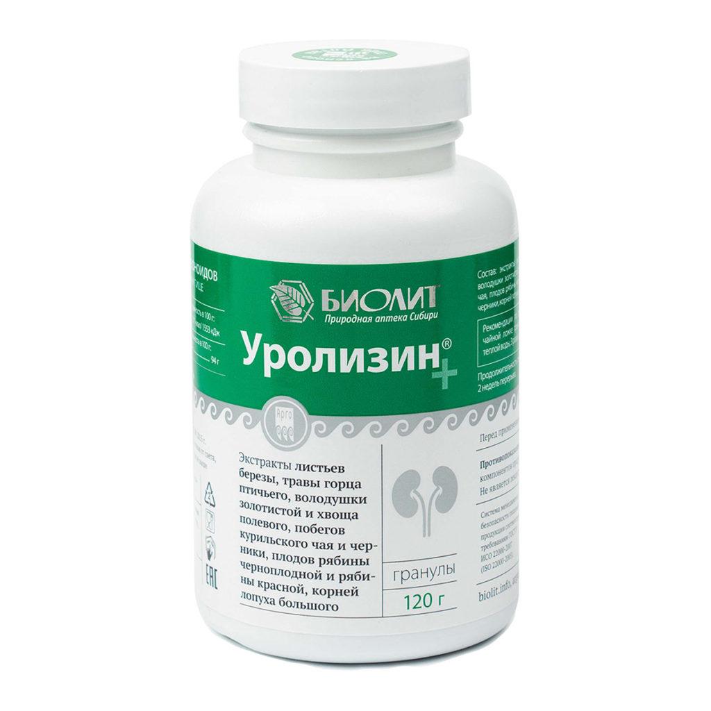 Уролизин+, 120 г