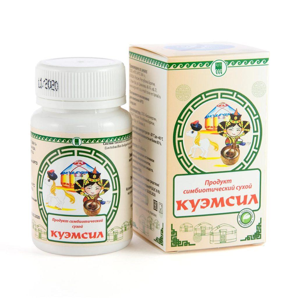 Продукт симбиотический «КуЭМсил», таблетки, 60 шт.