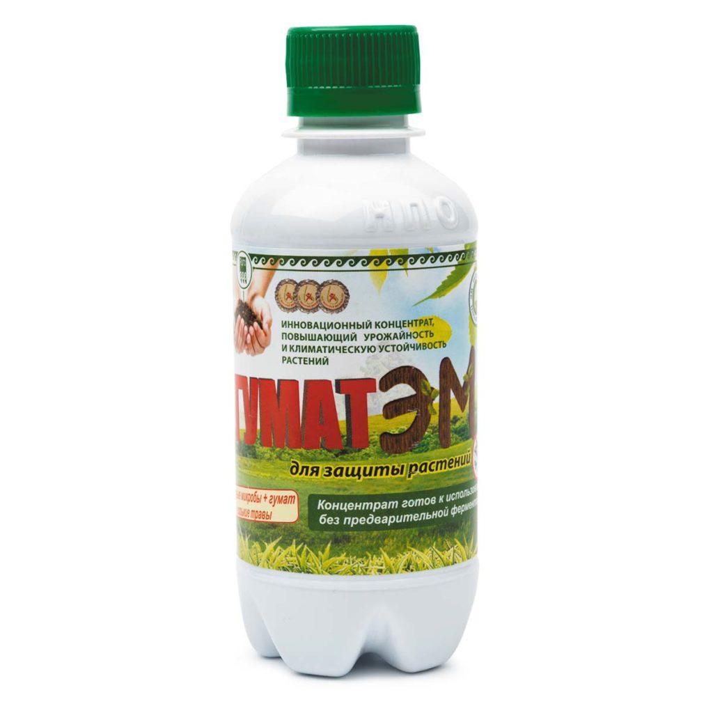 Удобрение минеральное «ГУМАТЭМ» для защиты растений, 250 мл.