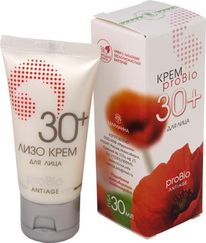 Крем «ProBIO 30+», 30 мл