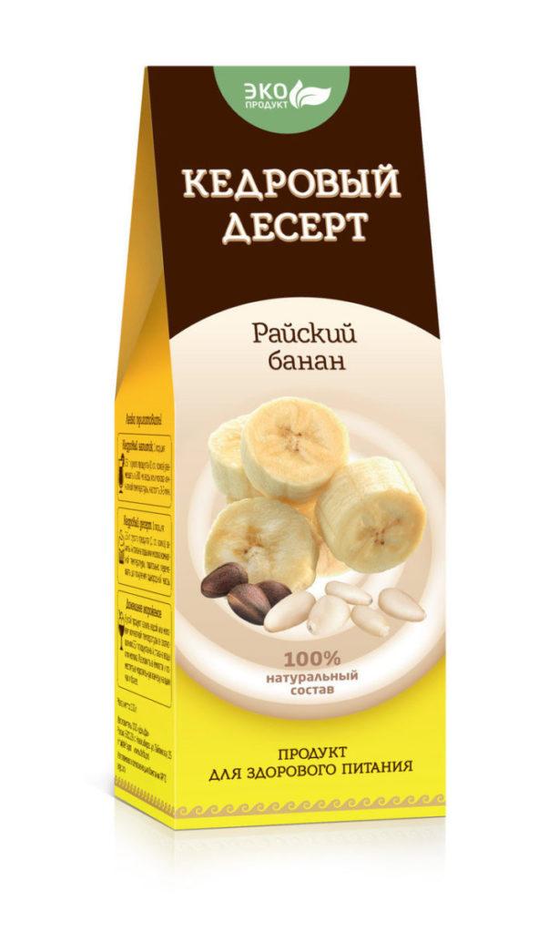 Кедровый десерт «Райский банан», 150 г