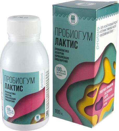 Пробиогум Лактис, 100 мл