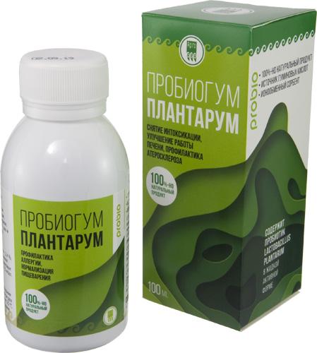 Пробиогум Плантарум, 100 мл