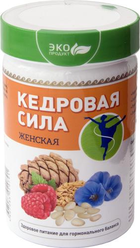 Продукт белково-витаминный «Кедровая сила — Женская», 237 г