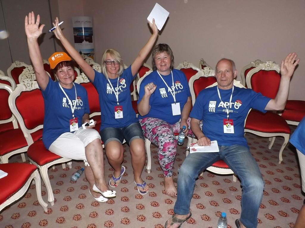 Вместе с командой побывали на форуме АРГО в Турции: отдохнули и обменялись опытом