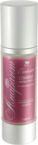 Сливки Анти-Стресс с дигидрокверцетином «Амарант», 80 мл