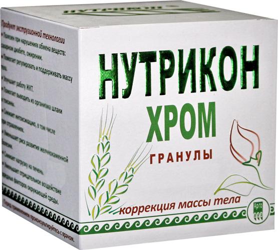 Нутрикон Хром, гранулы цилиндрические 350 г