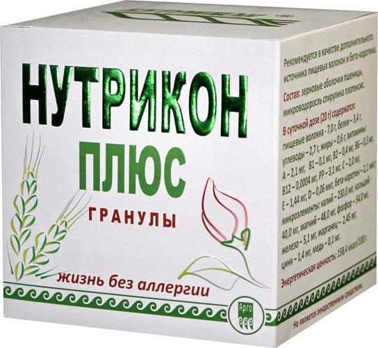 Нутрикон Плюс, гранулы цилиндрические 350 г