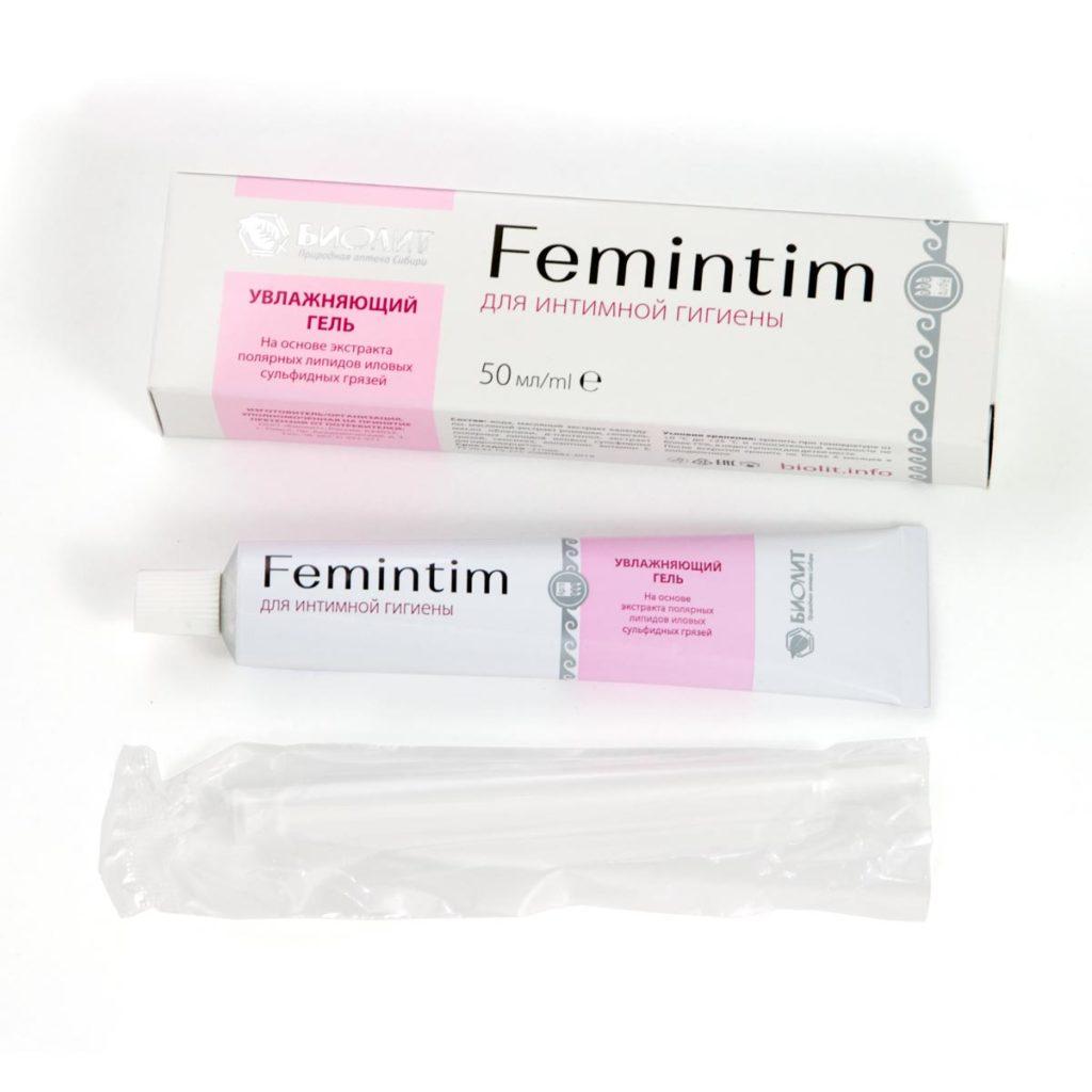 Гель увлажняющий для интимной гигиены «Femintim», 50 мл